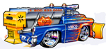 VIBCO SandBuster Truck - Art by Rohan Day